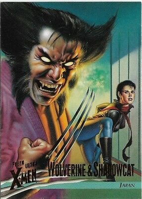 1996 Fleer Ultra X-Men: #36 Wolverine vs Shadowcat