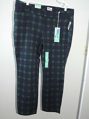 Womens Size 16 Petite * OLD NAVY * The Pixie Ankle Length Pants NWT Stretch