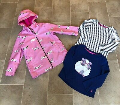 Girls JOULES jacket & top set age 3/4 years