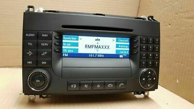 Radio Navi Navigation Mercedes W169 W245 A B Klasse Vito APS Becker BE6088