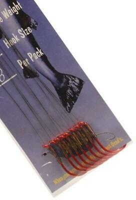2//0/Barbed Hook by brad S Fishing Gear 12/Lb brad S Hand Tied Leader/ /
