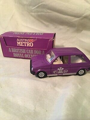 Vintage Corgi 1981 Austin Mini Metro Toy Car