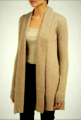 NWT TAHARI PURE LUXE 100/% Cashmere Stepped Hem Sweater  Sizes M//L