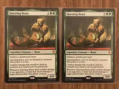 Questing Beast - Throne of Eldraine - Magic the Gathering MTG - NM/Mint
