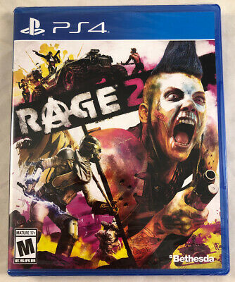 Rage 2 (Sony Playstation 4, PS4, 2019) Brand New Sealed