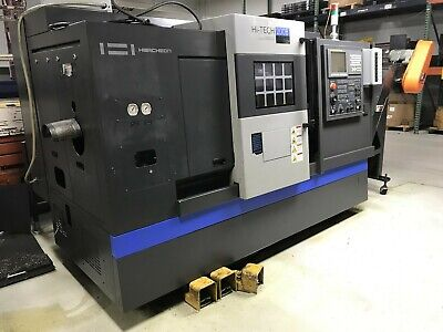 "HWACHEON Hi-Tech 200B CNC Lathe, 10"" Chk, 2.5"" Bore, 3500rpm, Fanuc, 2013"