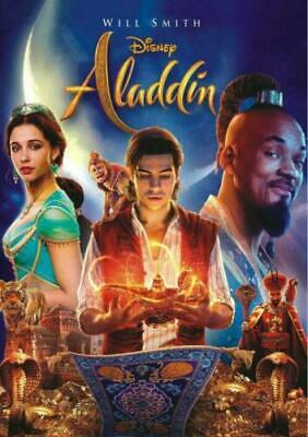 Aladdin ( NEW SEALED DVD 2019)  FAMILY FUN MAGICAL MOVIE , WILL SMITH ShipS FEEE