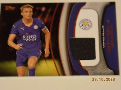 Topps Premier Gold 2015 - Football Fibers Relic Card FF-AK ANDY KING Leicester
