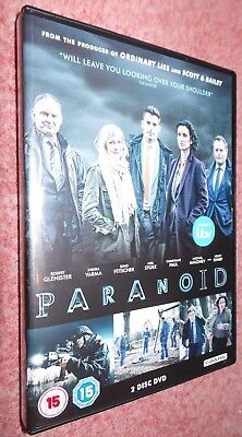 Paranoid: The Complete ITV Series (2016) DVD, Robert Gleniser, Lesley Sharp
