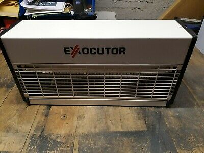 Exocutor Commercial Fly Zapper Insect Killer Twin Tube