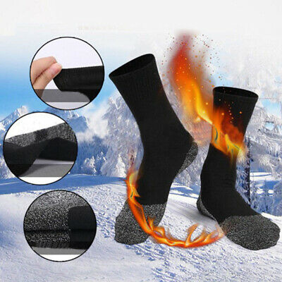 Winter Warm 35 Aluminized Keep Feet Long Sock Heat Fibers Insulation Man Socks