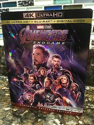 Avengers Endgame (4K Ultra HD Slipcover ONLY) NO DISC OR DIGITAL COPY