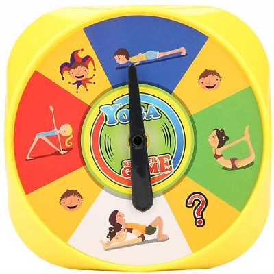 Yoga Pose Kids Cards Interactive Game for Parents and Children Yoga Board Game