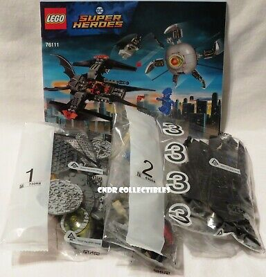 Lego DC Batman SET 76111 BROTHER EYE TAKEDOWN new complete in SEALED bags NO BOX