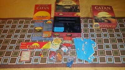 The Settlers of Catan Board Game 4 Mayfair #3061 trade build settle