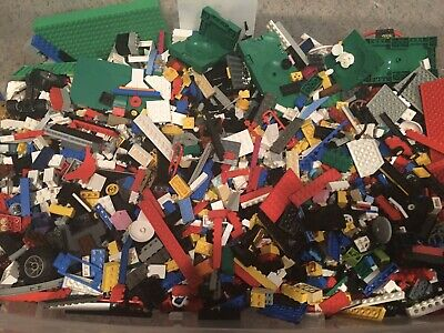 Genuine OEM LEGO Bulk Lot of 5 Pounds Bricks Parts Pieces Plate Tile Clean 5 lbs