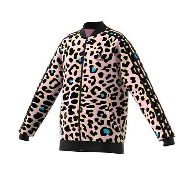 Adidas Originals Kids LZ Leopard Print SST Superstar Track Jacket FM9996