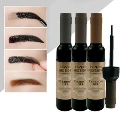 Peel Off Sourcils Tatouage Teinture Coloration Gel Crème Tattoo Facile Eyebrows