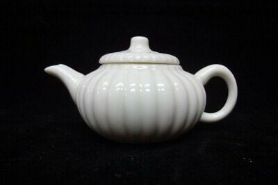 On salels! Very Fine Old Chinese White Glaze Porcelain Teapot