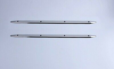 2X 24/'/' Rub Strake Stainless Steel 5 holes Polished for Marine Boat Yacht RV