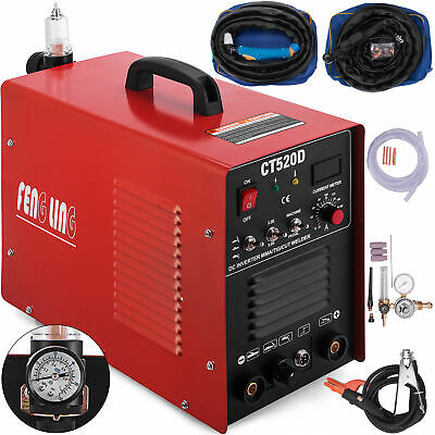 CT520D 3in1 Welding Machine Digital TIG/MMA/Plasma Cutter Welder & Accessories