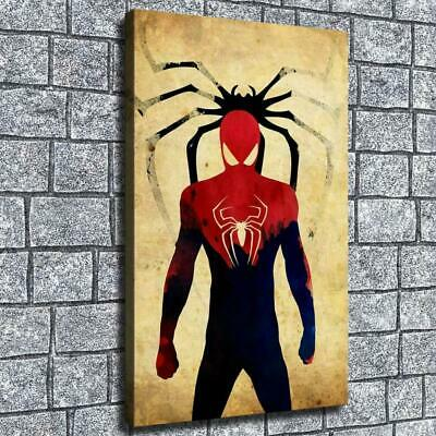 "12""x20"" Spiderman spider HD on Canvas Home Decor Wall paintings pictures Posters"