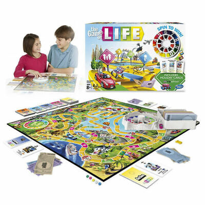 Newest Edition The Game of Life Board Game Fun Party Kids Family Interactive UK