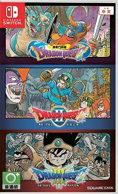 Dragon Quest 1+2+3 Collection Asia Chinese/English Subtitle Switch Brand New