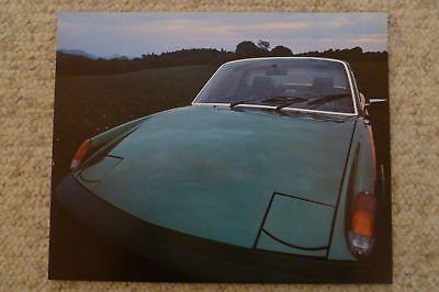 1976 Porsche 911 Coupe Showroom Advertising Poster RARE! Awesome L@@K