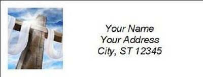 300 Personalized Christian Religious Return Address Labels (R018)