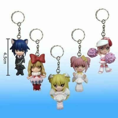 Shugo Chara 5 figure doll set mini key ring doll good gift collection Arts