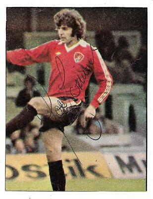 Bristol City - Peter Cormack - 1978 Genuine Signed Magazine Cutting