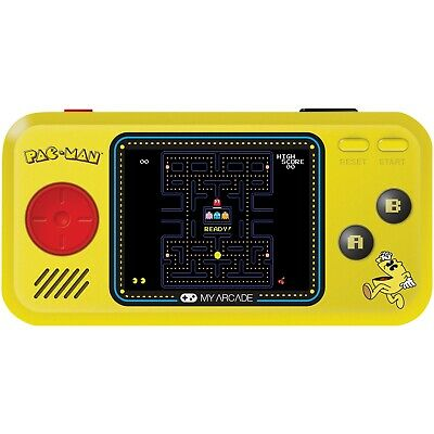 My Arcade Pac-Man Pocket Player Portable Gaming Handheld Game Console w/ 3 Games