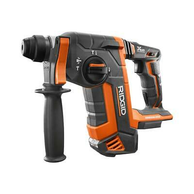 RIDGID R86711B Brushless 18v 1 Inch SDS Plus Rotary Hammer Tool Only !!!!!!!!!