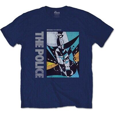 The Police Sting Message in a Bottle con licencia Camiseta hombre