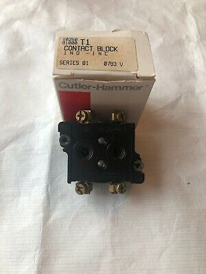 Cutler-Hammer-10250T1-Contact-Block-Series-B1 new