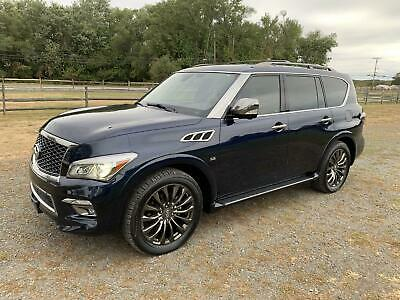 2016 Infiniti QX80 Limited 2016 INFINITI QX80 Limited FULLY LOADED REBUILT TITLE $82K+ sticker price