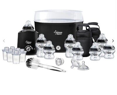 New Tommee Tippee Closer To Nature Complete Starter Set Steriliser Bottle Warmer