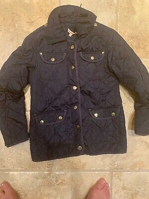 Girls Bluezoo Navy Jacket Age 9-10 Yrs