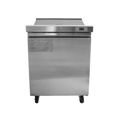 """29"""" Stainless Refrigerated Salad Sandwich Prep Table-SS201 INSIDE"""