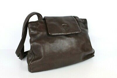Marco Polo Brown 100 Leather Shoulder Bag Good Condition