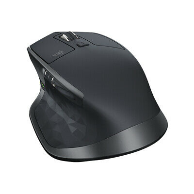 Logitech MX Master 2s Wireless Bluetooth Mouse Graphite for Mobile Mac PC Laptop