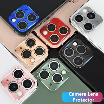 For iPhone 11 Pro Max 11 Full Cover Camera Lens Metal Alloy Plating Protector