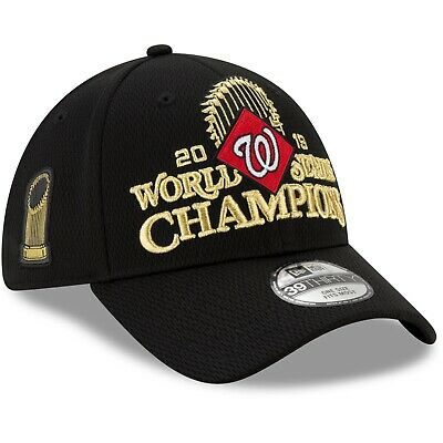 Washington Nationals New Era 39THIRTY World Series Champions Locker Room Cap Hat