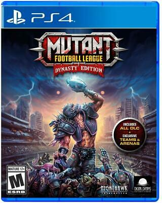 Mutant Football League PS4 Dynasty Edition Playstation 4 Brand New