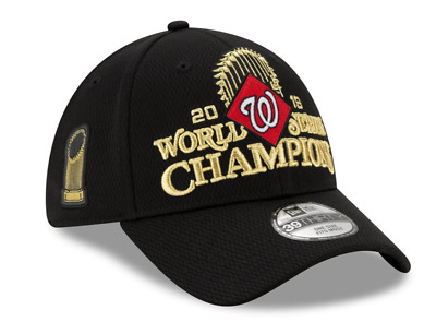 New Era MLB Washington Nationals 2019 World Series Champions Locker Room Hat Cap