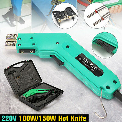220V 100W/150W Handheld Hot Heating Wire Grooving Knife Tool Kit For Foam Cutter