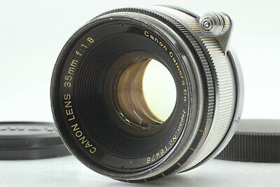 [ EXC+++++ ] Canon 35mm f/1.8 Leica Screw Mount LTM L39 MF Lens from JAPAN