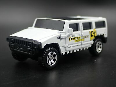 Hummer H3 Construction Rare 1:64 Echelle Collection Diorama Voiture Miniature