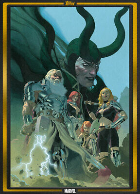 Topps Marvel Collect King Thor #1 GOLD Comic Book Day 2019 [DIGITAL CARD] 1000cc